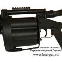 Страйкбольный гранатомет ICS Revolver Grenade Launcher GLM & TAG Innovation Edition