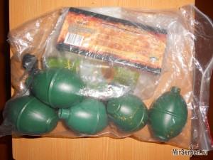 Результаты взрыва в руках страйкбольной имитации гранаты m26