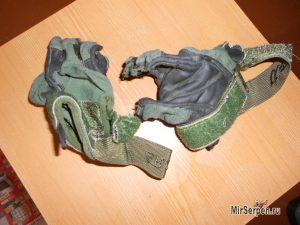 Что будет, если постирать кожаные тактические перчатки