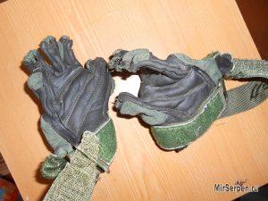 Что будет, если постирать тактические перчатки из замши